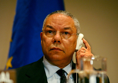Colin Powell at the UN ©Susan Farley Photography/NYC and Westchester Portrait Photographer