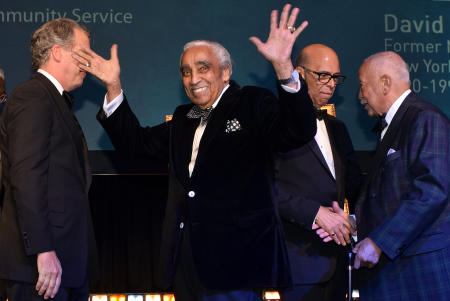 UNF Gala with Charles Rangel and David Dinkins