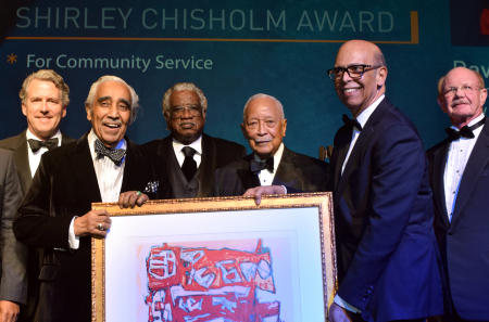 UNF Gala With Charles Rangel and David Dinkins.